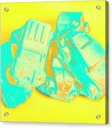 Pop Art Pileup Acrylic Print