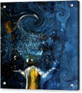 Pop The Champagne Top By Lisa Kaiser Acrylic Print