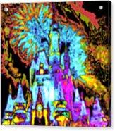 Popart Castle Acrylic Print