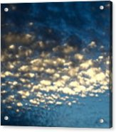 Popcorn Clouds Acrylic Print