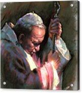 Pope John Paul II Acrylic Print