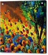 Poppies 456150 Acrylic Print