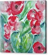 Poppies Celebration Acrylic Print
