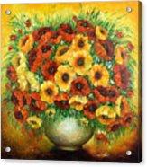 Poppies. Acrylic Print
