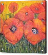 Poppies For My Sister Acrylic Print