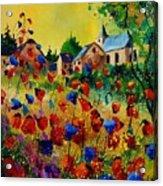 Poppies Sosoye Acrylic Print