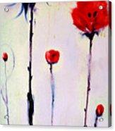 Poppy Family Acrylic Print