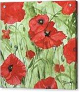 Poppy Field 1 Acrylic Print