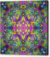 Poppy Opal Yantra Acrylic Print