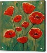 Poppy Surprise Acrylic Print