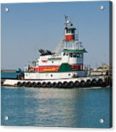 Popular Sight At Port Canaveral On Florida Acrylic Print