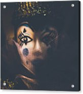 Porcelain Doll. Performing Arts Event Acrylic Print