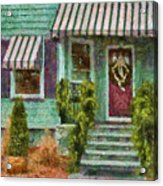 Porch - Westfield Nj - Welcome Friends Acrylic Print