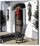 Porch At Boone Hall Plantation Charleston Sc Acrylic Print