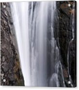 Porcupine Falls Closeup Acrylic Print