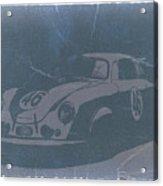 Porsche 356 Coupe Front Acrylic Print