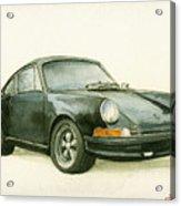 Porsche 911 Classic Car Art Acrylic Print
