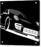 Porsche 911 Gt2 Night Acrylic Print