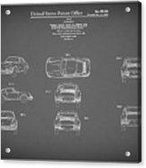 Porsche 911 Patent 1964 Acrylic Print