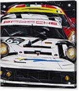 Porsche 911 Rsr Le Mans Acrylic Print