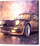 Porsche 911 Turbo 1979 Acrylic Print