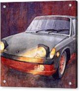 1970 Porsche 914 Acrylic Print
