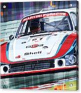 Porsche 935 Coupe Moby Dick Martini Racing Team Acrylic Print