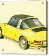 Porsche 993 Acrylic Print