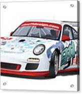 porsche 997 GT3 CUP Acrylic Print