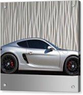 Porsche Beautiful Dream Sports Car Acrylic Print