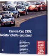 Porsche Carrera Cup 1992 Acrylic Print