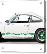 Porsche Carrera Rs Illustration Acrylic Print