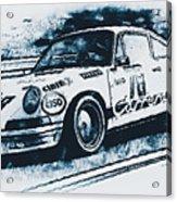 Porsche Carrera Rsr, 1973 - 06 Acrylic Print