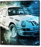 Porsche Carrera Rsr, 1973 - 23 Acrylic Print