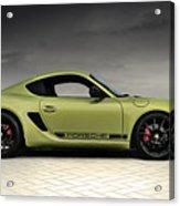 Porsche Cayman R Acrylic Print