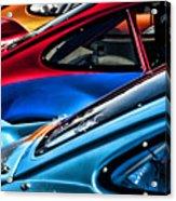 Porsche Fins Acrylic Print