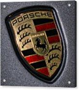 Porsche Acrylic Print by Gordon Dean II