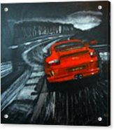 Porsche Gt3 Le Mans Acrylic Print