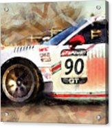 Porsche Gt3 Martini Racing - 01 Acrylic Print