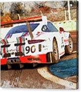 Porsche Gt3 Martini Racing - 02 Acrylic Print