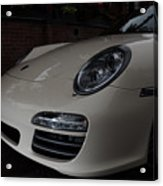 Porsche On Canyon Road Acrylic Print