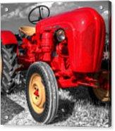 Porsche Tractor Acrylic Print