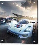 Porsche Vision Gt Concept Acrylic Print