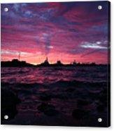 Port Angeles Harbor Twelve Acrylic Print