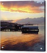 Port Angeles Sunset Acrylic Print