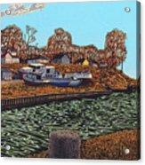 Port Burwell, Ontario Acrylic Print