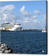 Port Canaveral In Floirda Acrylic Print