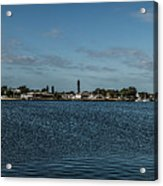 Port Charlotte Beeney Water Way From Beeney Acrylic Print