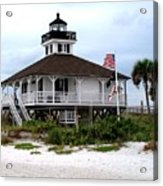 Port Charlotte Harbor Lighthouse Acrylic Print