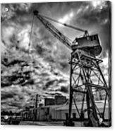 Port Crane Acrylic Print